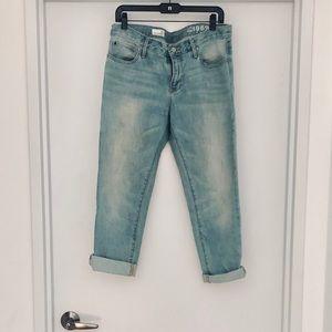 Gap Sexy Boyfriend Slightly Destroyed Jeans